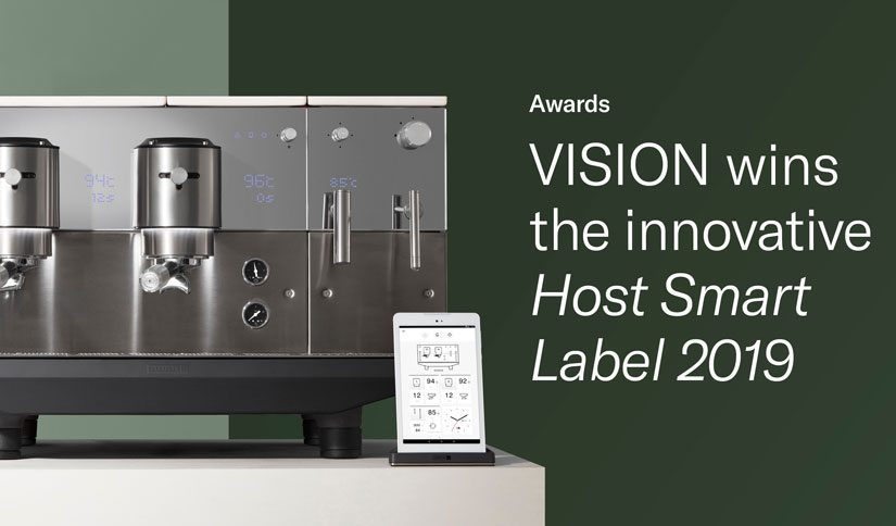 VISION wins the innovative Host Smart Label 2019