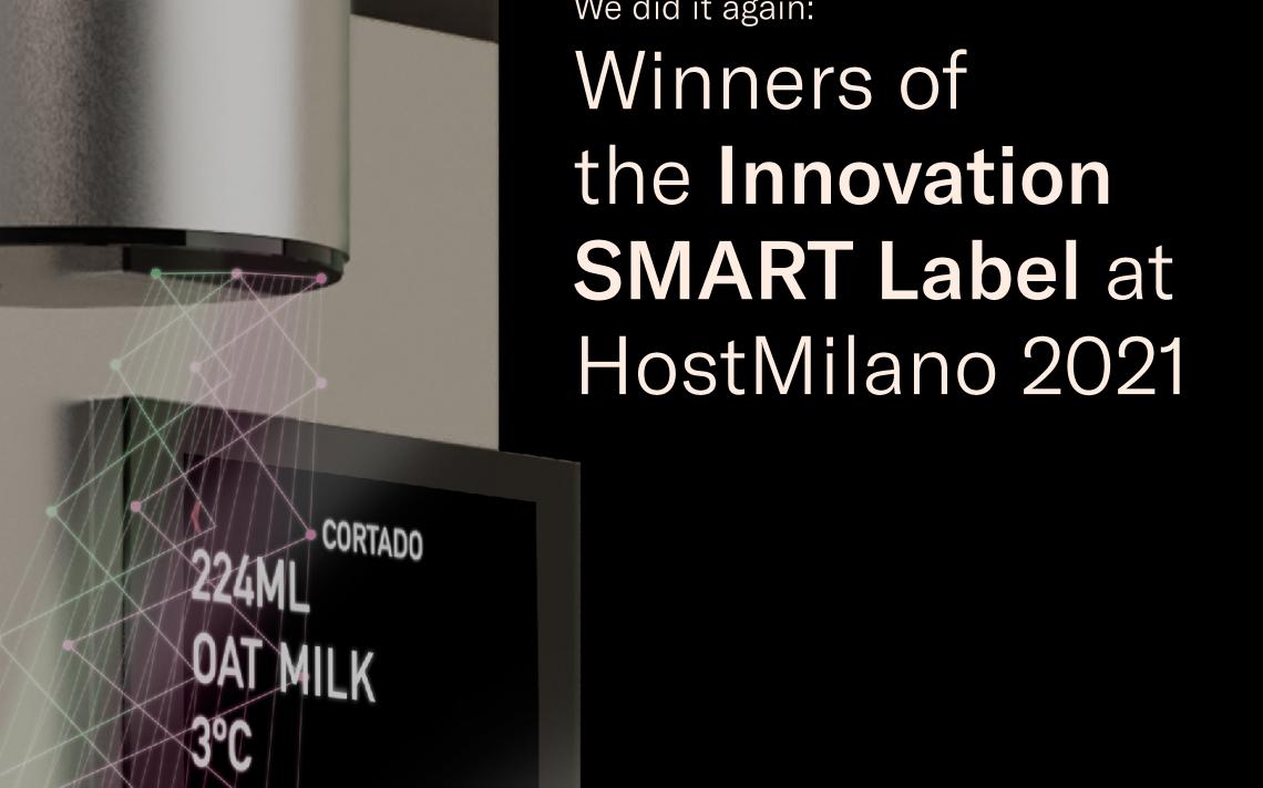 Ganadores del Innovation SMART Label en la Host Milano 2021