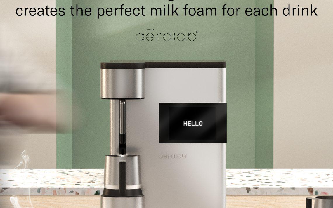 aēralab, la maquina intel·ligent que crea l'espuma de llet perfecta per a cada beguda