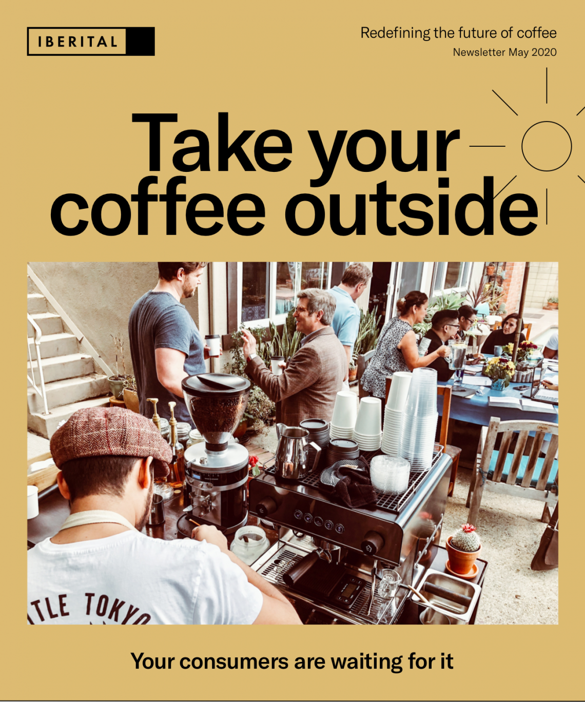 bring your coffee outdoors