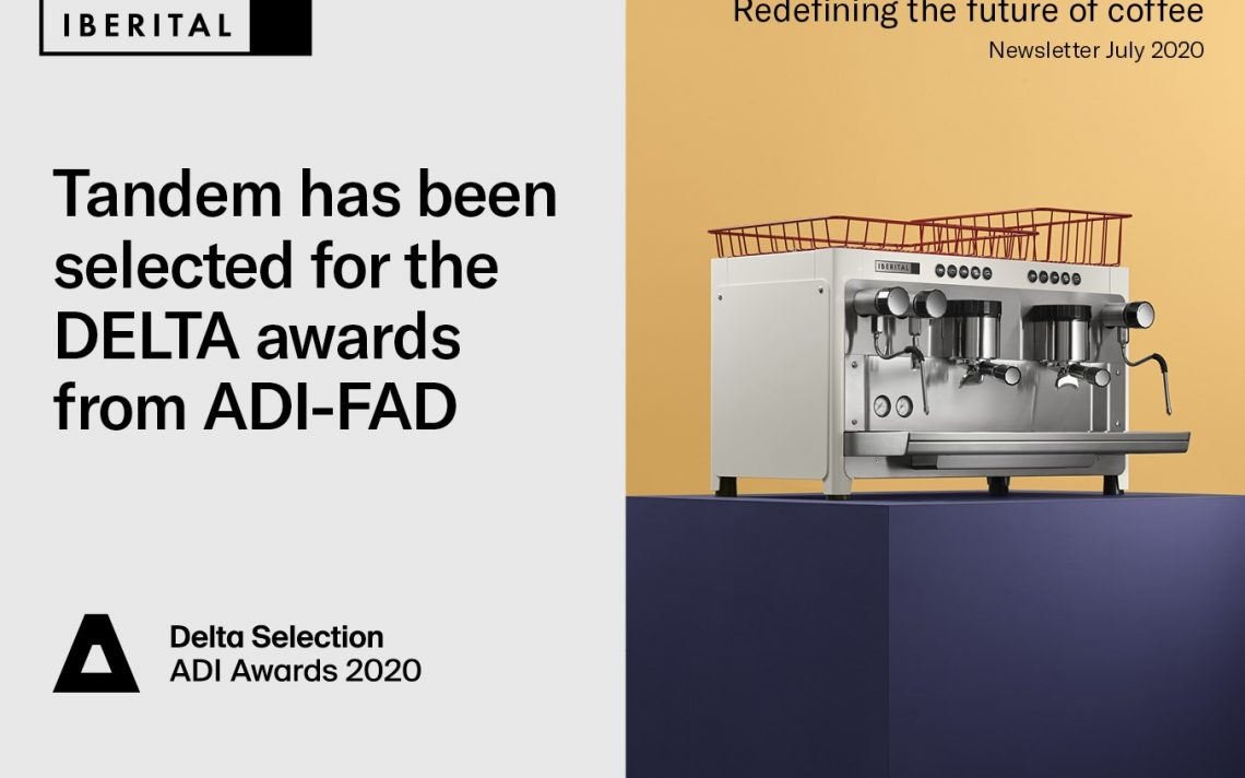 Tandem has been selected for the DELTA awards from ADI-FAD